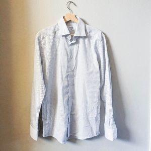 ETON Luxury Shirtmaker Slim Fit Dress Shirt 39 M